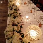 Wedding toptable