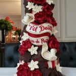John & Gez wedding cake
