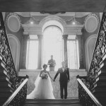 Michelle & Sam london town house wedding