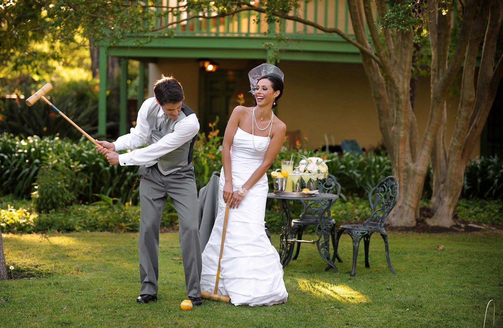 Wedding Croquet Via Heavenly Blooms Blog