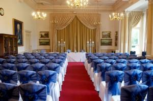 Wedding planning blue ceremony