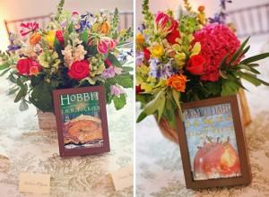 book-cover-table-names-wedding-theme - via imbueyouido.com
