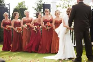 bridesmaids via MN Weddings