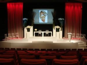 BAFTA cinema wedding ceremony
