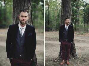 Groom blazer via Weddbook