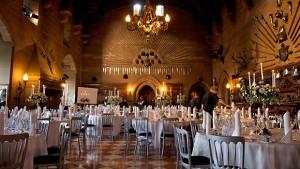 Warwick Castle great-hall-wedding-breakfast