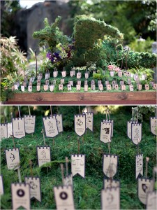 game-of-thrones-wedding-escort-cards via Amelia Strauss Photography