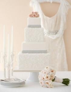 Bride Cake- The Cake Parlour