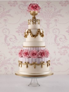 Fortnam & Mason Wedding Cake