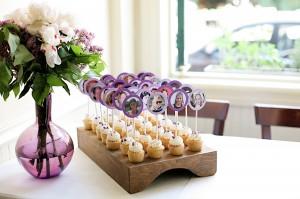 Mini cupcake favours