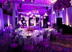London wedding uplighting