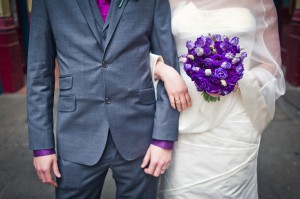 My London Wedding Planner - purple wedding
