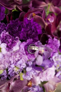 Plum Wedding Florals