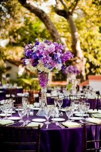 wedding planning - table centre