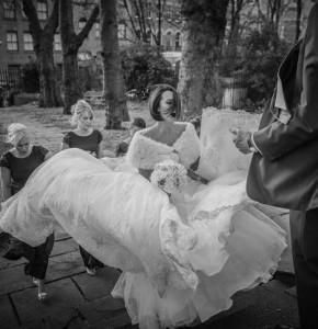 L&P - brides arrival