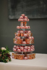 Treats stack for wedding ideas