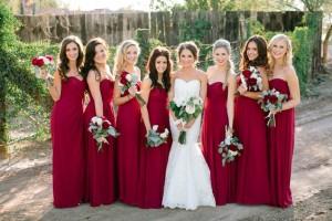 christmas-bridal-party