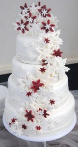 christmas-wedding-cake