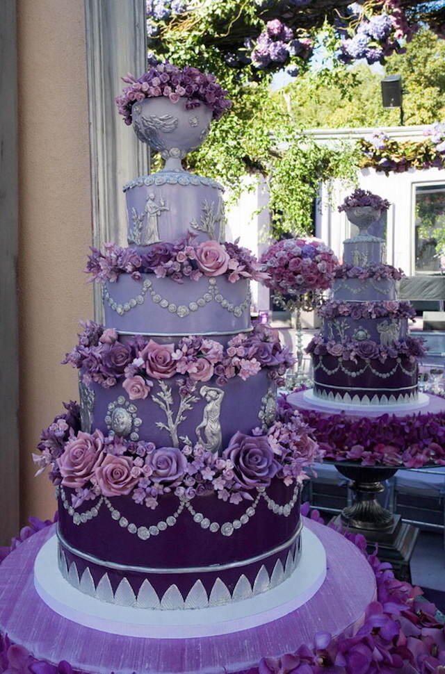 purple wedding cake decorations purple such a fabulous colour scheme for a wedding 18912